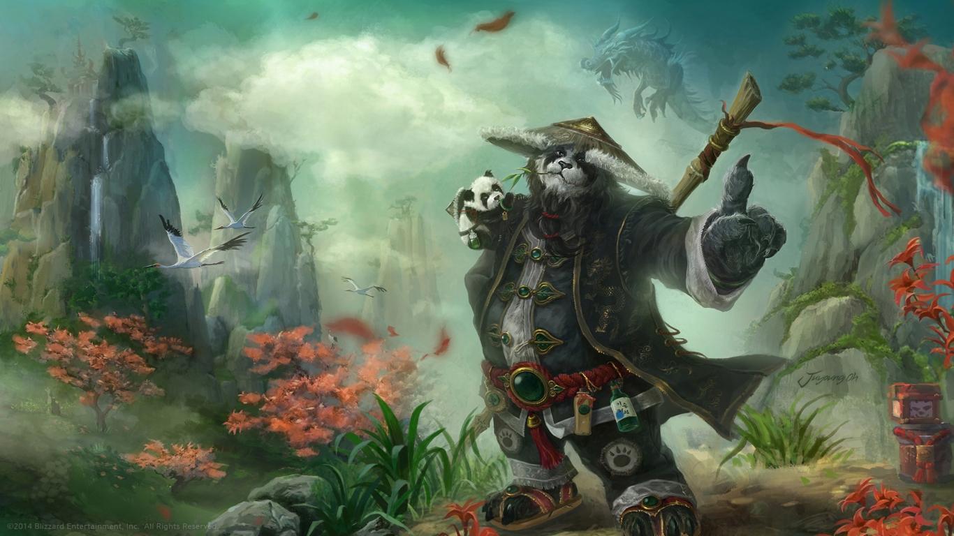 نژاد باستانی و اسرارآمیز Pandaren
