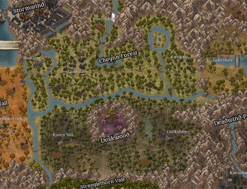 نقشههایی جالب از لردران قدیم، ارگریمار و Stormwind